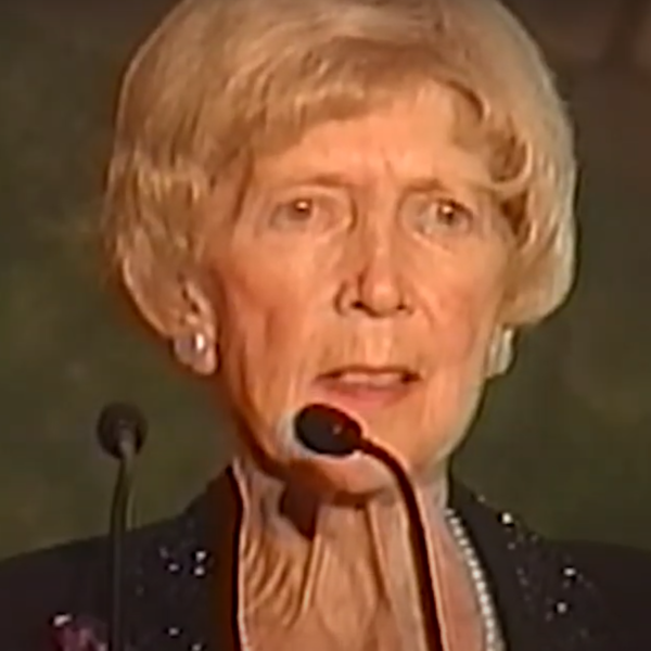 Lois Hole in her last public address, 2004