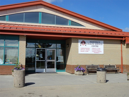 Maskwacis Health Services, location of one of the three cardiology clinics