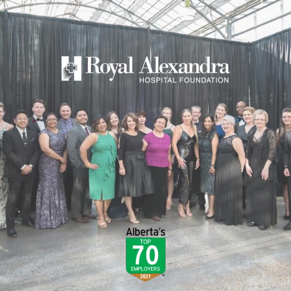 Staff from the Royal Alexandra Hospital Foundation, pictured at 2019's annual Harvest Celebration fundraiser.